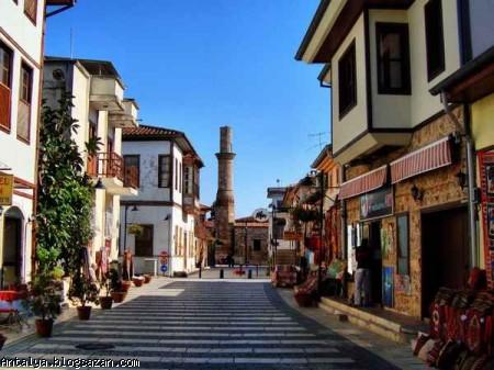 شهر قدیمی کلیچی آنتالیا