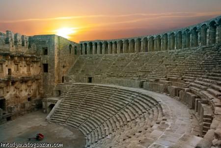سالن تئاتر آسپندوس,گردشگری آنتالیا