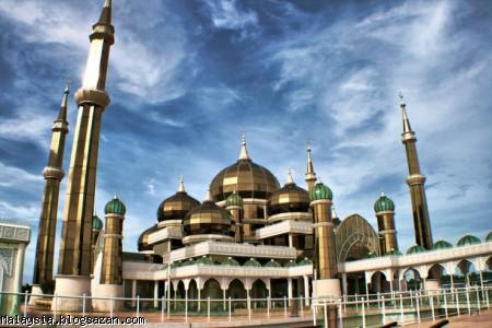 مسجد کریستالی مالزی,گردشگری مالزی