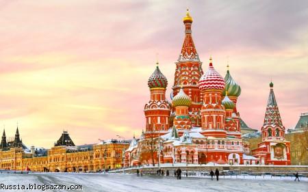 تعطیلات در روسیه
