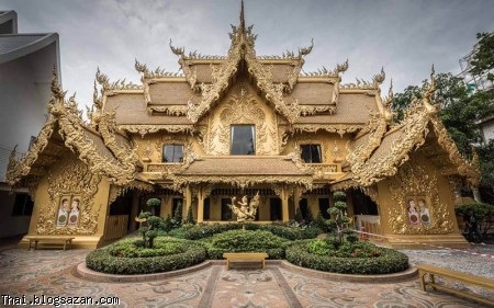 معبد سفید تایلند, معبد وات رانگ کان