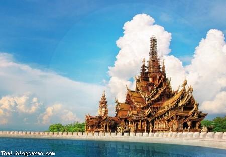 معبد حقیقت تایلند,گردشگری تایلند