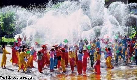 جشنواره سونگکران,تایلند,سونگکران