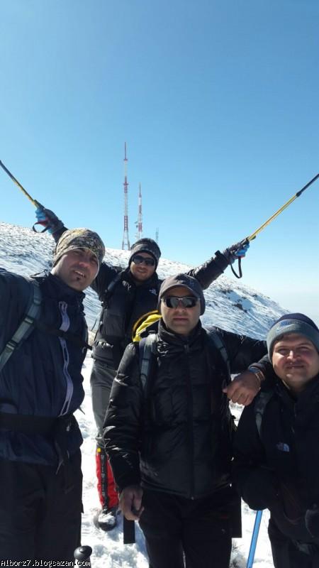 صعود به قله ی دشته از مسیر حصار(تنگه ی وسیه، هزارچشمه)