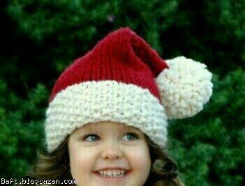 کلاه پاپانوئل,بافت کلاه دخترانه,آموزش <a href='/tag%D8%A8%D8%A7%D9%81%D8%AA+%DA%A9%D9%84%D8%A7%D9%87.php'>بافت کلاه</a> دخترانه,بافت کلاه,بافت کلاه دو میل