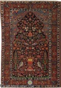 کهن ترین نقش قالی تاریخ,فرش