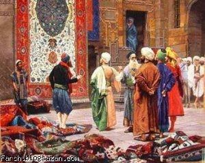 تاریخچه قالی,قالی ایرانی,قالی در دوران ساسانی