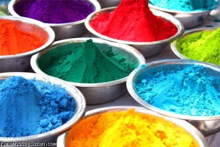 رنگرزی قالی,رنگرزی,صنایع نساجی