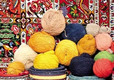 رنگرزی فرش,رنگرزی قالی,فرش ایران