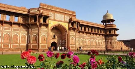 جاذبه های گردشگری هند,سفر به هند,قلعه آگرا