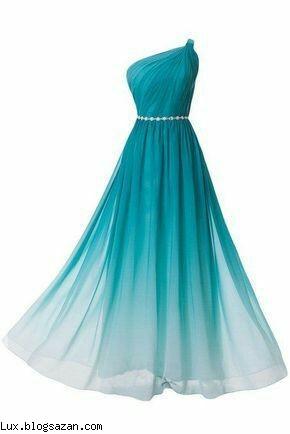 مدل لباس شب،مدل لباس شب سبز رنگ