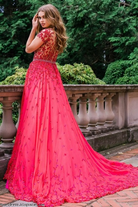 مدل لباس شب ژوانی