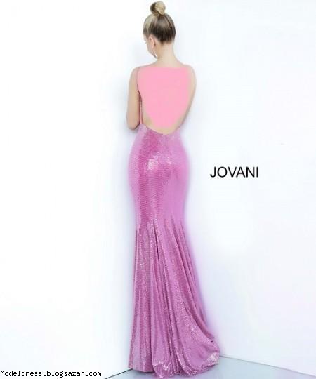 مدل لباس شب رنگ صورتی