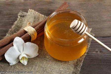 ماسک دارچین و عسل برای درمان جای جوش