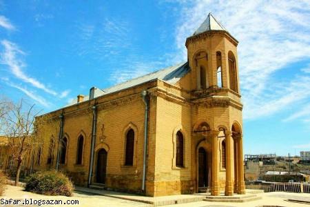 کلیسای گریگوری استفان,گردشگری همدان,همدان,جاهای دیدنی همدان