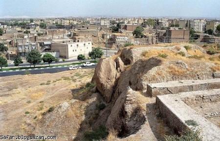 تپه باستانی هگمتانه,گردشگری همدان,جاهای دیدنی همدان,safar