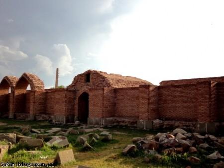 کاروانسرای قانلی بولاغ,کاروانسرای شاه عباسی,گردشگری اردبیل,اردبیل