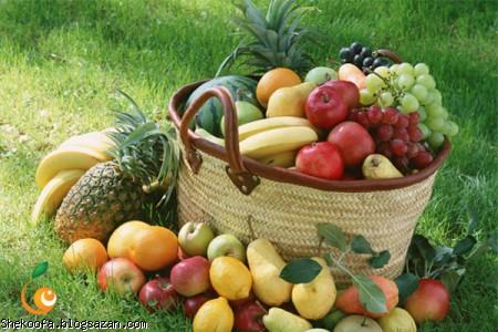 درمان بیماری با میوه,میوه درمانی