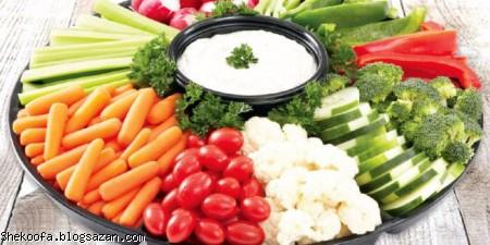 لاغری با سبزیجات,گیاه خواری,سبزیجات لاغری,افزایش سوخت و ساز بدن
