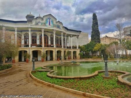 باغ و عمارت شاپوری,گردشگری شیراز,شیراز گردی,شیراز