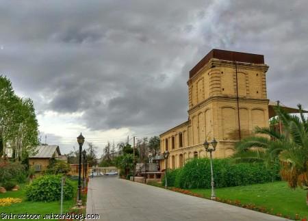 کتابخانه ملی,حال و هوای بهاری,شیراز,گردشگری شیراز