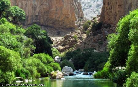 بهشت گمشده,تنگ بستانک,مرودشت فارس