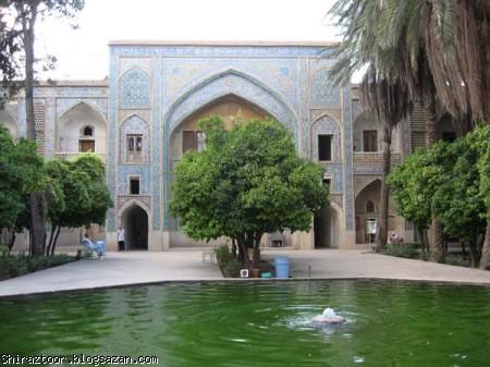 گرشدگری شیراز,مرمت مدسه خان,شیراز