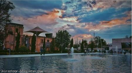 کتابخانه ملی,گردشگری شیراز,جاذبه های گردشگری شیراز