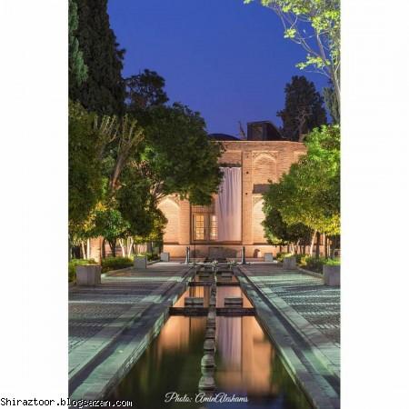 باغ جهان نما,گردشگری شیراز,جاذبه های گردشگری شیراز