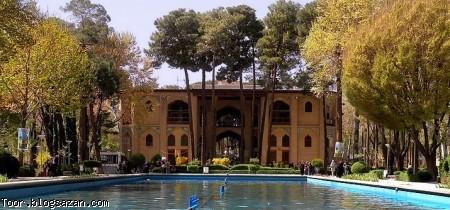 باغ هشت بهشت اصفهان,باغ هشت بهشت