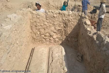 مسجد تاریخی,کشف باستانی,بهبهان,باستان شناسی