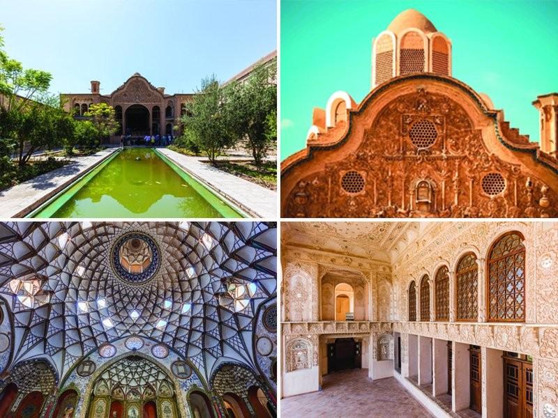خانه تاریخی بروجردی ، کاشان |شاهکاری از هنر ایران ، معماری