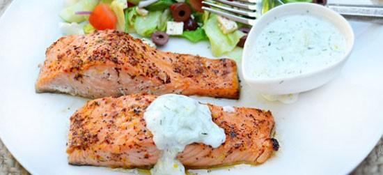خوراک فیله ی ماهی (یونان)