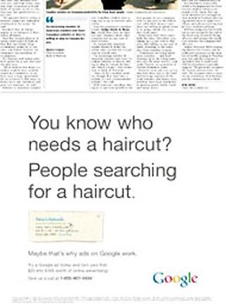 راهکار جالب گوگل برای نشان دادن اهمیت تبلیغات آنلاین