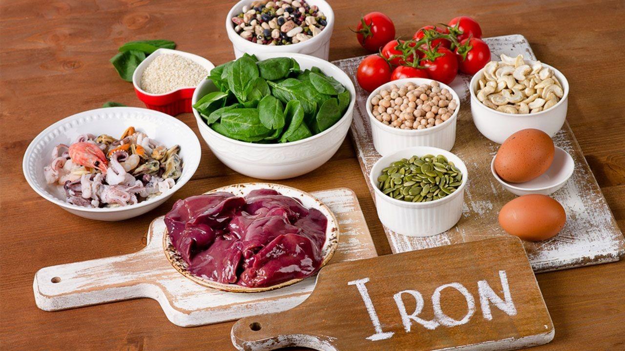 علائم و نشانه های کمبود آهن