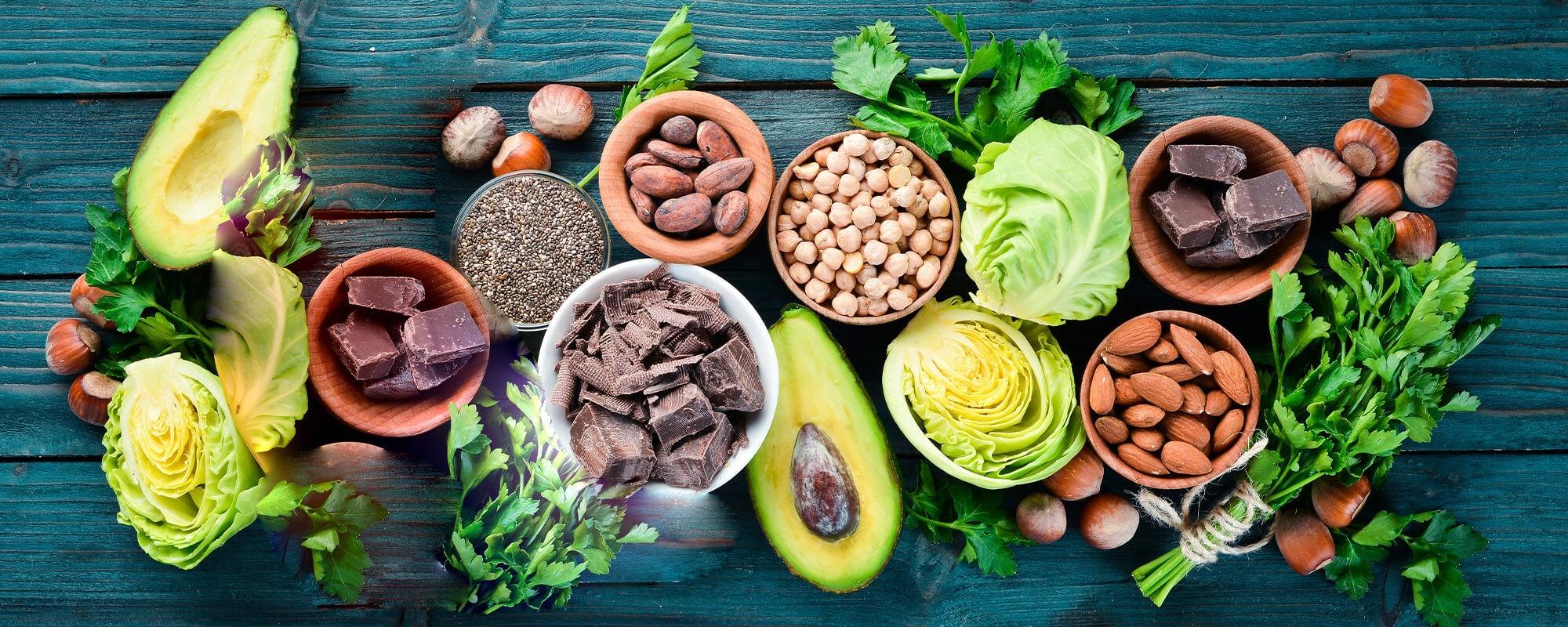 ویتامین ها و مواد معدنی موجود در غذا