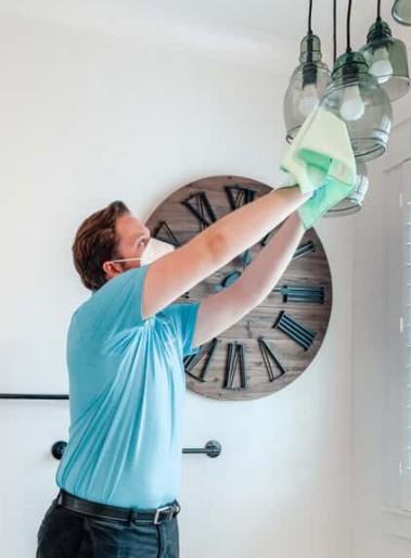 ترتیب درست مراحل تمیز کردن منزل چیست؟