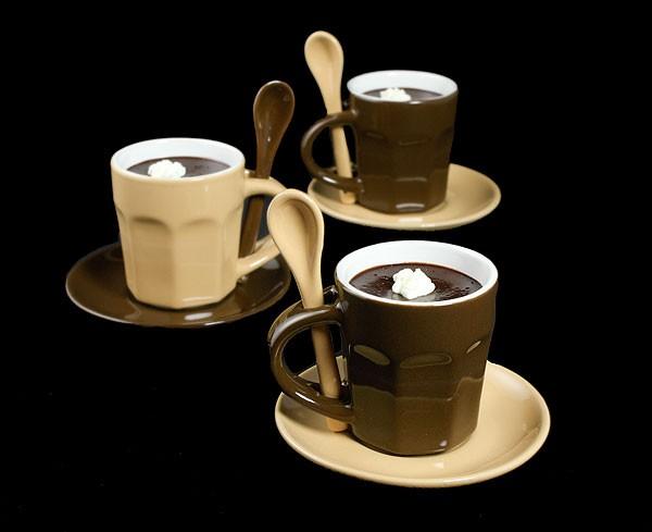 طرز تهیه کرم کاستارد شکلاتی با کرم فندق