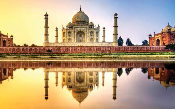 تاج محل آگرا در هند