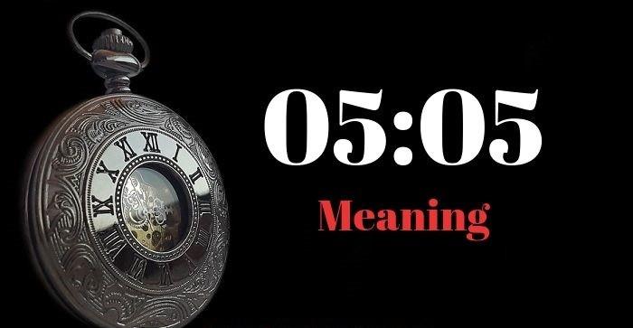 معنی 05:05