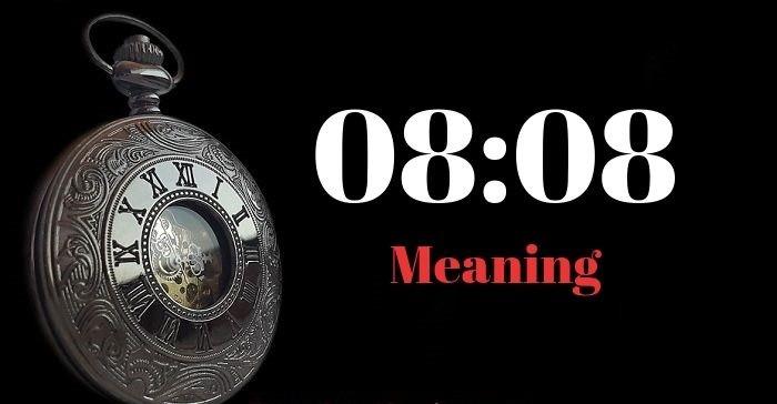 معنی 08:08