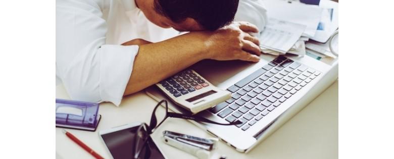 خستگی و کار بیش از حد