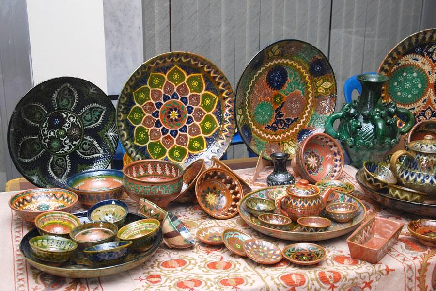 هنرها و صنایع دستی در آسیای میانه