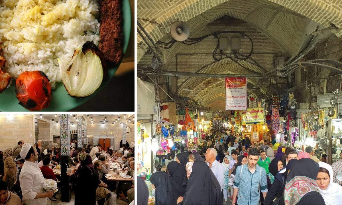جاذبه های گردشگری و تاریخی بهترین بازارهای ایران