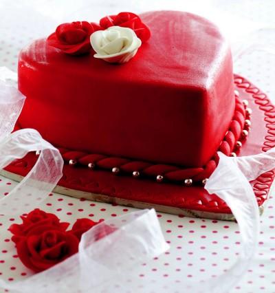 دستور العمل کیک روز ولنتاین