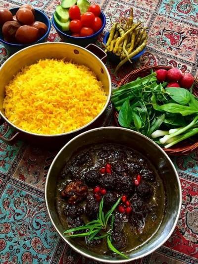 غذای اصیل ترکیه خورش داوود پاشا