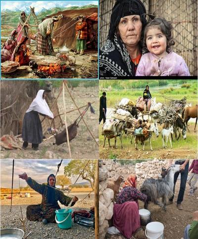 آشنایی با زندگی عشایر ایران |عشیره ، فرهنگ ، غذا ،
