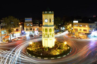 میدان ساعت در استان مازندران، شهرستان ساری