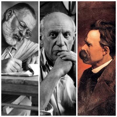 زندگی عجیب نویسندگان و نقاشان مشهور
