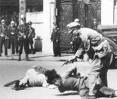 اعدام کمونیست های شانگهای